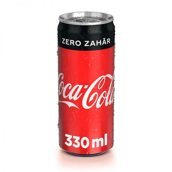coca cola zero doza 330ml zone cafe
