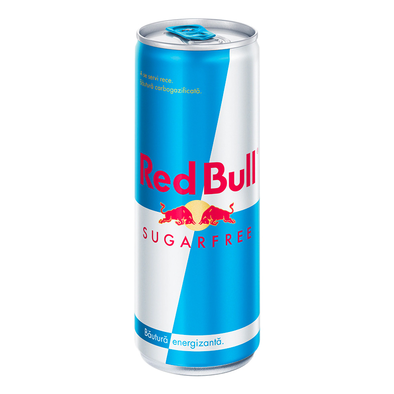 red bull sugar free doza 250ml zone cafe - normal